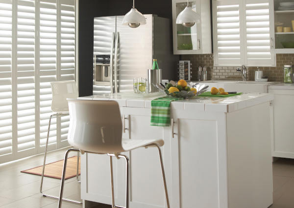 Plantation Shutters for Kitchens at Mirmac