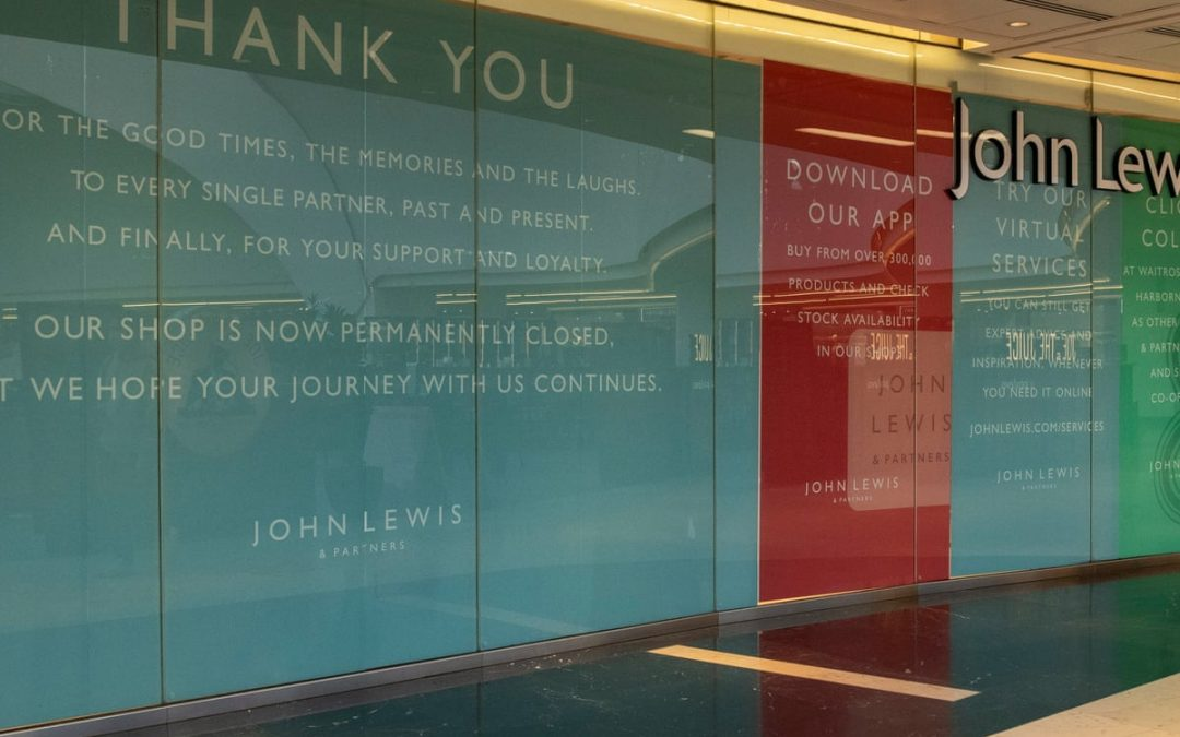 Will we lose the vital role of the showroom experience, as department stores close for good?