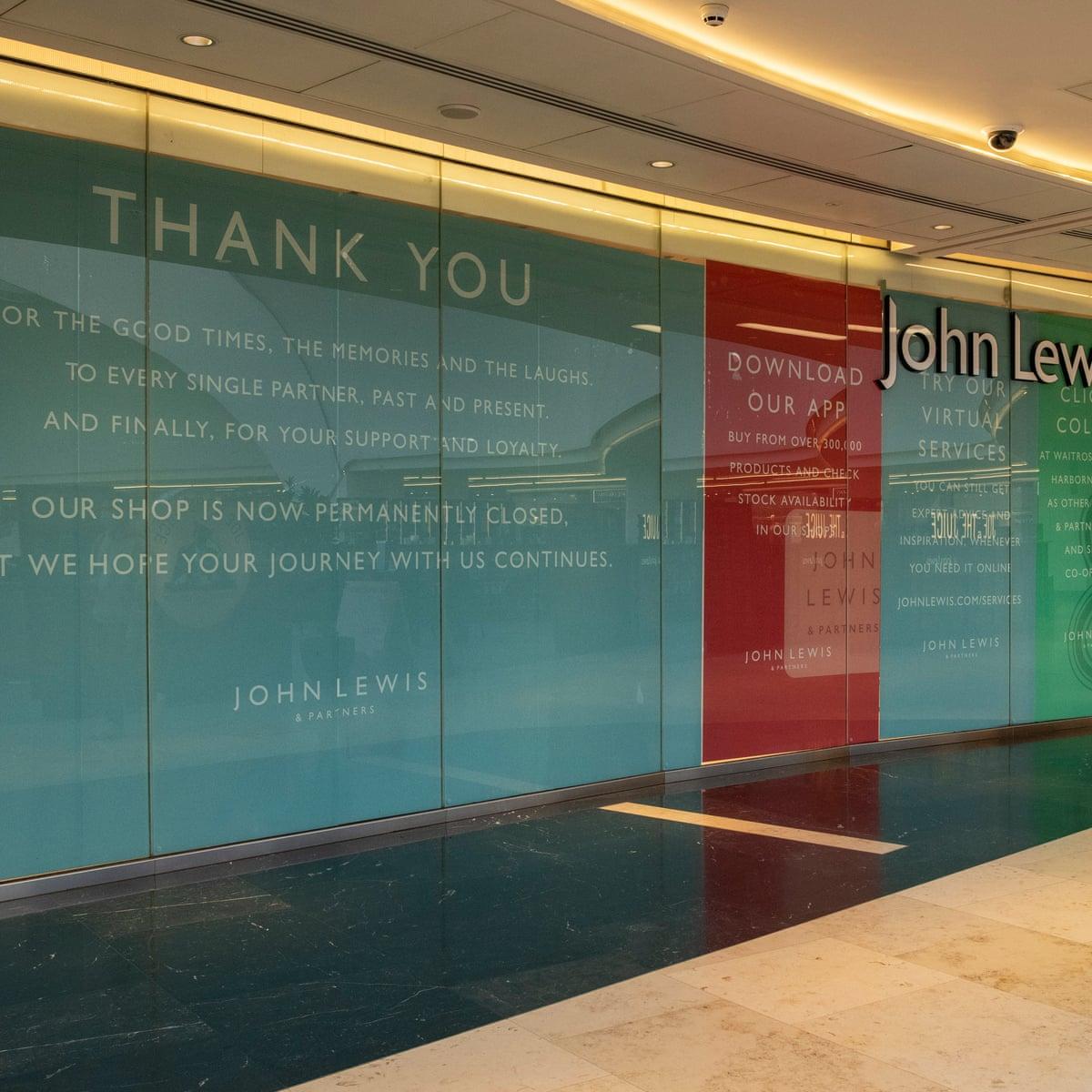 John Lewis Store Closure