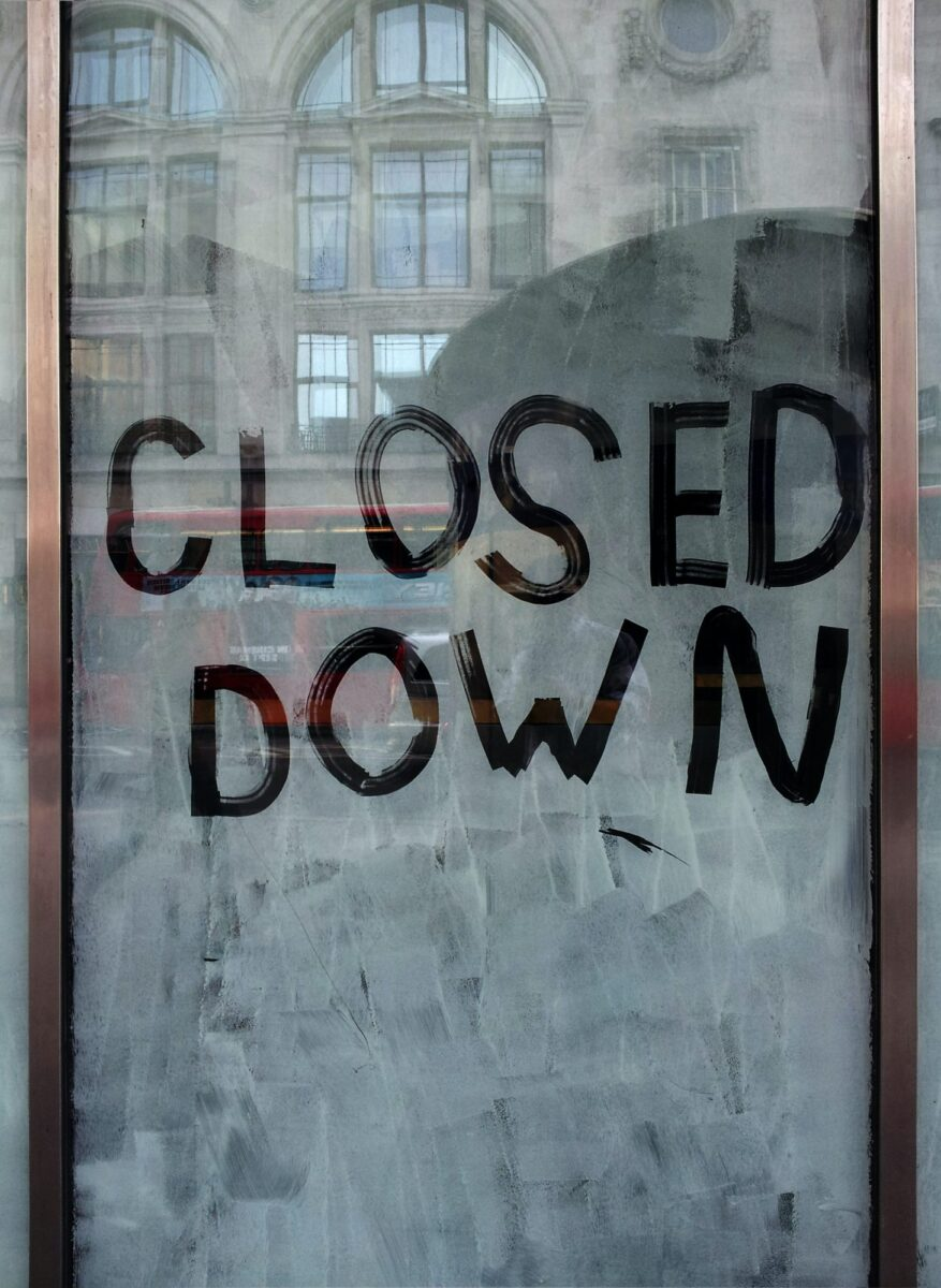 Department stores continue to close on UK high streets